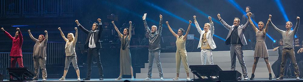 Luther - Pop-Oratorium 2017 auf Tournee in Deutschland, Foto Stephan Drewianka